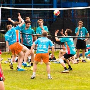 Hajraa volleyball event