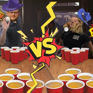 Beer Pong Battle Drink